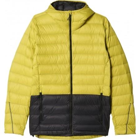 adidas Light Down Hooded Jacket Black | adidas UK