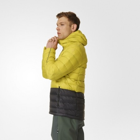 Pánská outdoorová bunda - adidas LIGHT DOWN HOODED JACKET CB - 5