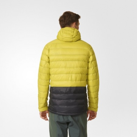 Pánská outdoorová bunda - adidas LIGHT DOWN HOODED JACKET CB - 4