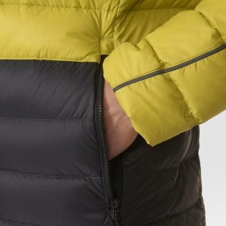 Pánská outdoorová bunda - adidas LIGHT DOWN HOODED JACKET CB - 7