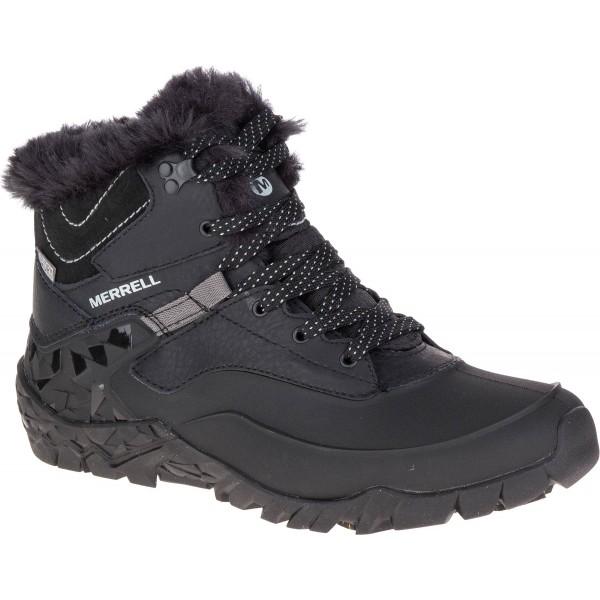 Merrell AURORA 6 ICE WATERPROOF fekete 4.5 - Női téli cipő