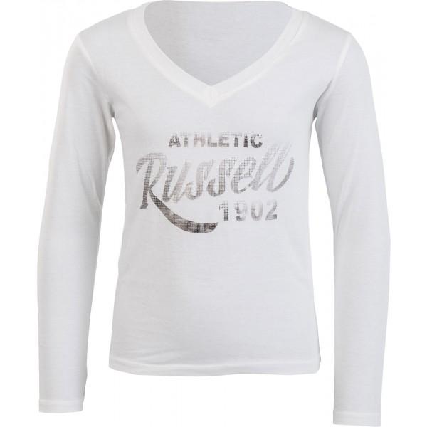 Russell Athletic KOSZULKA DZIEWCZĘCA biały 152 - Koszulka dziewczęca
