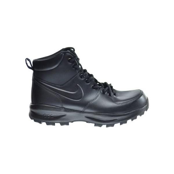 Nike MANOA LEATHER čierna 10.5 - Pánska voľnočasová obuv