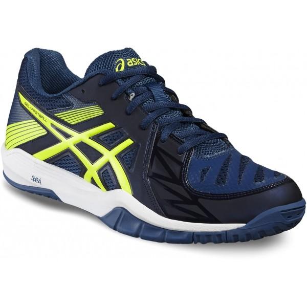 Asics GEL-FASTBALL 2 tmavě modrá 10.5 - Pánská sálová obuv