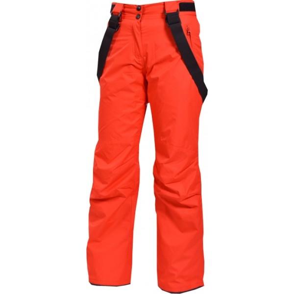 Northfinder ZELMA červená L - Dámské lyžařské kalhoty