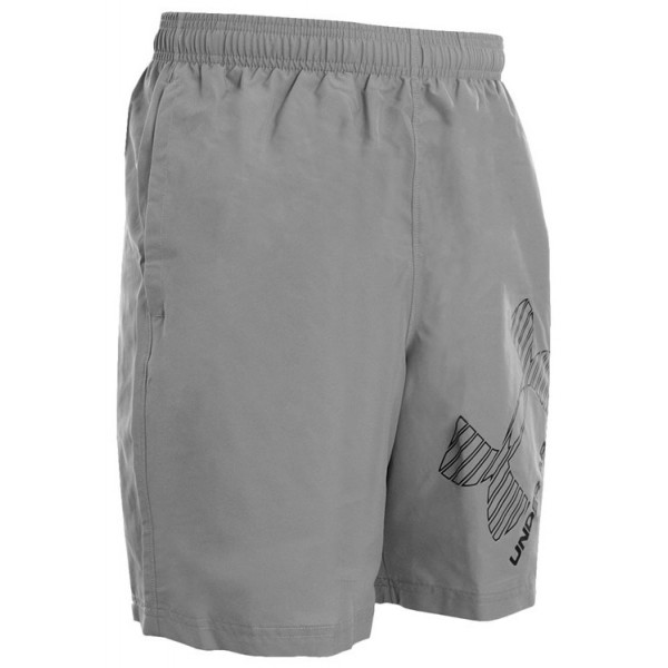 Under Armour INTL GRAPHIC WOVEN SHORT szary L - Spodenki męskie