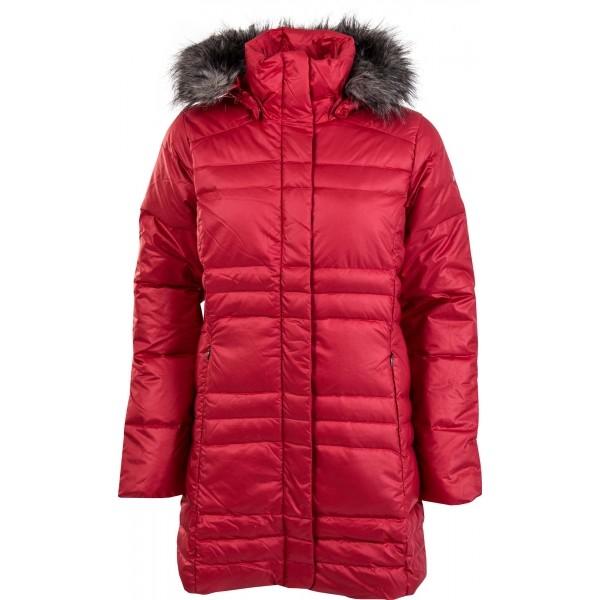 Columbia MERCURY MAVEN IV MID JACKET červená L - Dámský zimní kabát