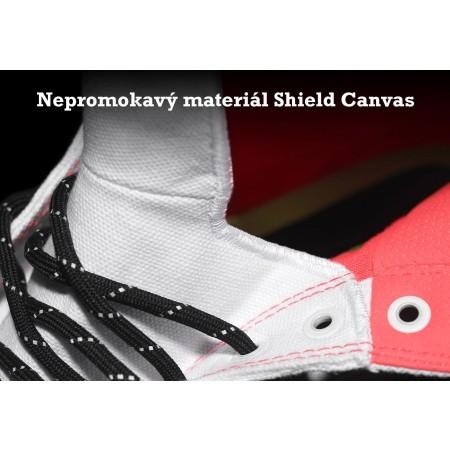 Nepromokavé pánské tenisky - Converse CHUCK TAYLOR ALL STAR II SHIELD CANVAS Black/Reflective/Lava - 8