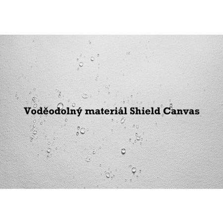 Nepromokavé pánské tenisky - Converse CHUCK TAYLOR ALL STAR II SHIELD CANVAS Black/Reflective/Lava - 6