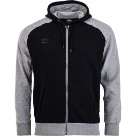 Umbro HOODED FULL ZIP JACKET - Pánska mikina