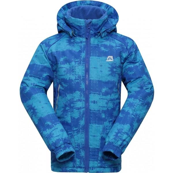 ALPINE PRO ROSO modrá 152-158 - Dětská bunda