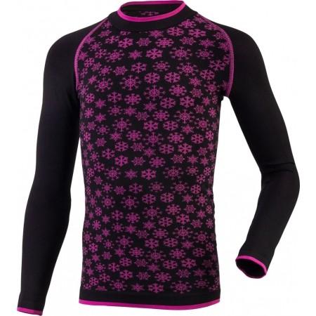 Dievčenské funkčné bezšvové termo tričko - Klimatex ABBIE - 1