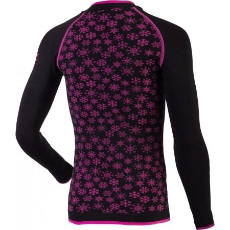 Dievčenské funkčné bezšvové termo tričko - Klimatex ABBIE - 2