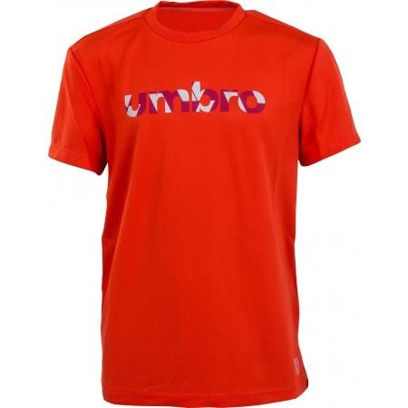 Dětské triko - Umbro PRO TRAINING REFLECITVE WORD TEE JNR - 1