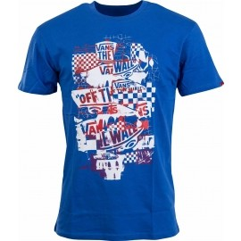Vans M OTW CHECKER BLASTE - Pánske tričko