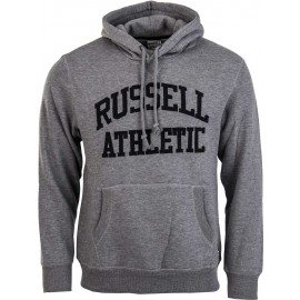 Russell Athletic PULL OVER HOODY WITH FLOCK ARCH LOGO - Hanorac bărbați
