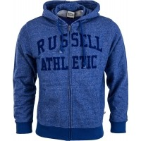 Russell Athletic ZIP THROUGH HOODY WITH FLOCK ARCH LOGO  8f017f9bb46