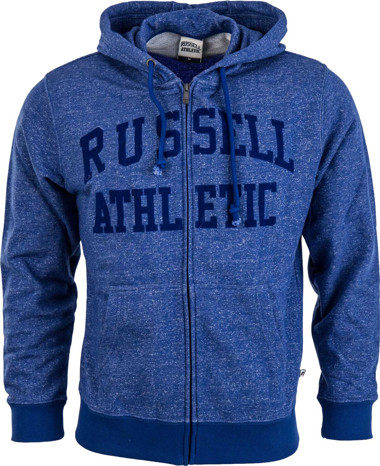 Russell Athletic ZIP THROUGH HOODY WITH FLOCK ARCH LOGO. Pánská mikina fa4a83904c2