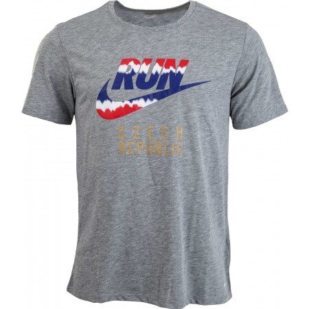 0ddb26630670 Pánske športové tričko - Nike RUN P CZECH FLAG TEE - 1