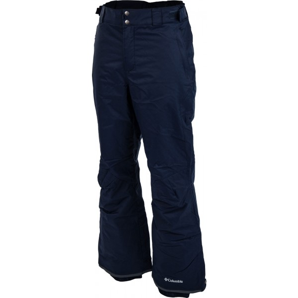 Columbia BUGABOO II PANT tmavo modrá M - Pánske zimné lyžiarske nohavice