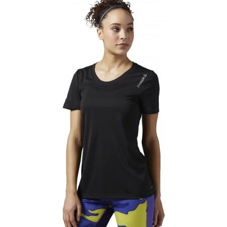 Dámské běžecké triko - Reebok RE SS TEE W - 1 fe64b71515
