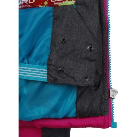 Detská zimná bunda - Lewro HARLOW 140-170 - 7