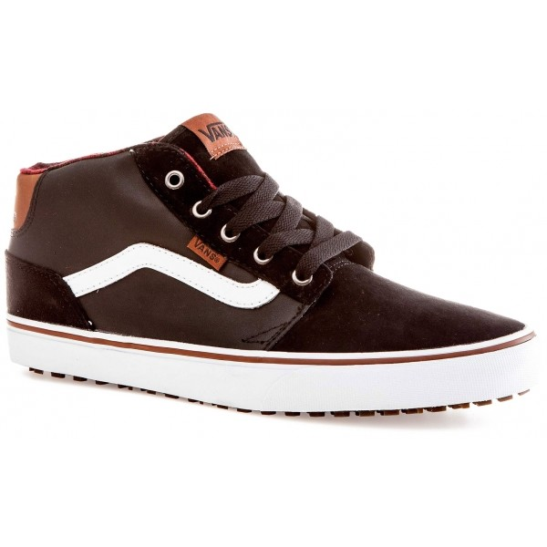 Vans M CHAPMAN MID MTE Black/Bungee - Pánske zimné topánky