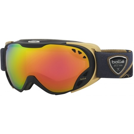 Women's downhill ski goggles - Bolle DUCHESS ROSE GOLD - 1