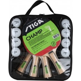 Stiga SET CHAM 4 PLAY - Table tennis set