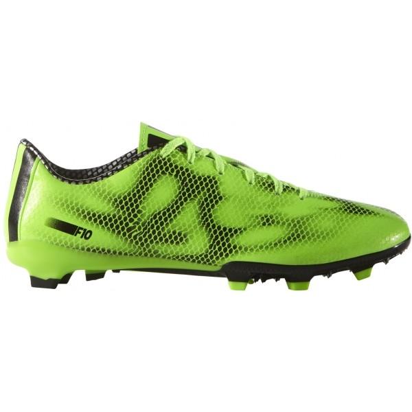 adidas F10 FG zelená 6.5 - Pánske kopačky