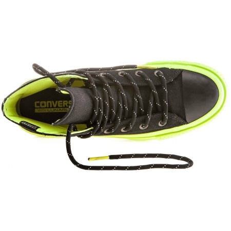 afd580401351 Unisex water resistant sneakers - Converse CHUCK TAYLOR ALL STAR II SHIELD  CANVAS Black Volt