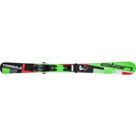 Children's downhill skis - Elan FORMULA S QS + EL 4.5 - 4