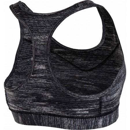 Дамски спортен сутиен - adidas TECHFIT BRA HEATHER PRINT - 3