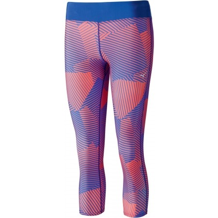 16fcc196cf Women's running 3/4 length pants - Mizuno PHENIX PRINTED 3/4 TIGHTS W