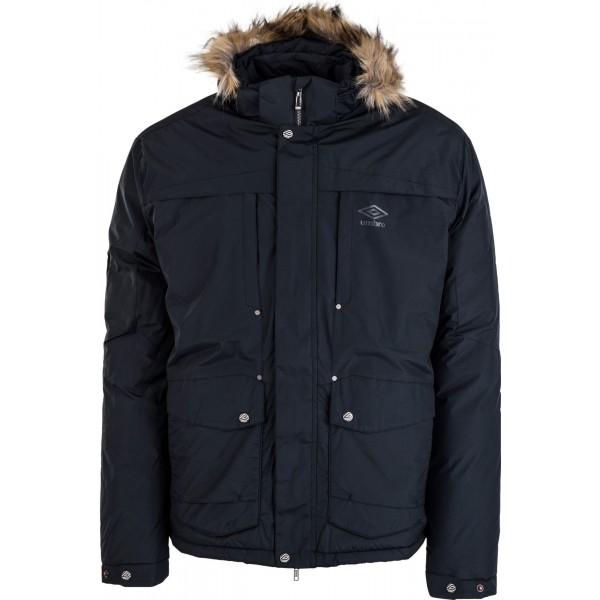 Umbro GOLD černá XXL - Pánská zimní bunda