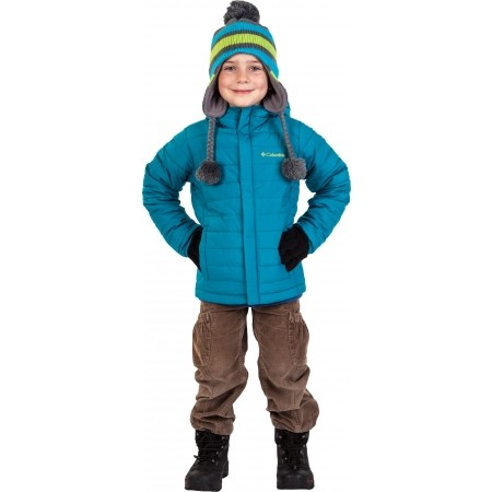 Kids' winter shoes - Columbia YOUTH BUGABOOT - 9