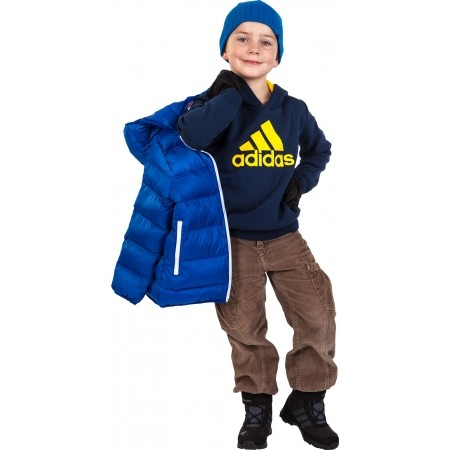 Chlapecká mikina - adidas ESSENTIALS LOGO HOODIE - 7