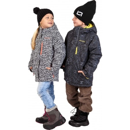 Girls' winter jacket - Columbia ALPINE FREE FALL JACKET GIRLS - 6