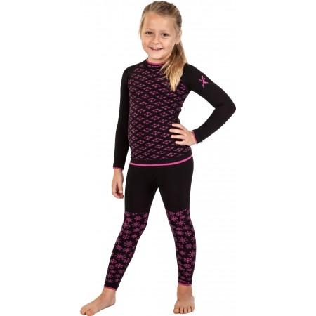 Dievčenské funkčné bezšvové termo tričko - Klimatex ABBIE - 3