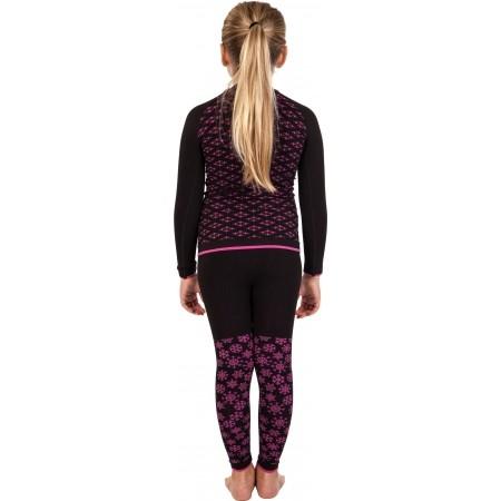 Dievčenské funkčné bezšvové termo tričko - Klimatex ABBIE - 4