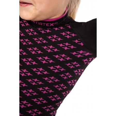 Dievčenské funkčné bezšvové termo tričko - Klimatex ABBIE - 5