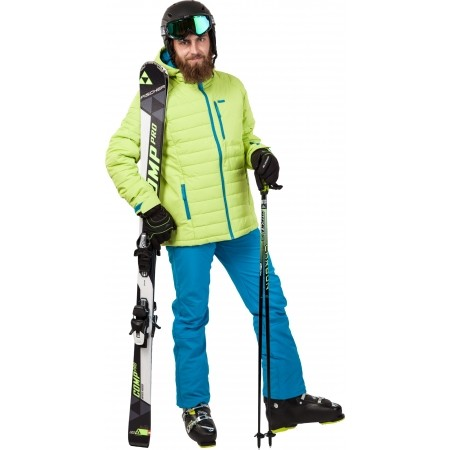 Pánské zimní softshellové kalhoty - Loap LILKEM - 4