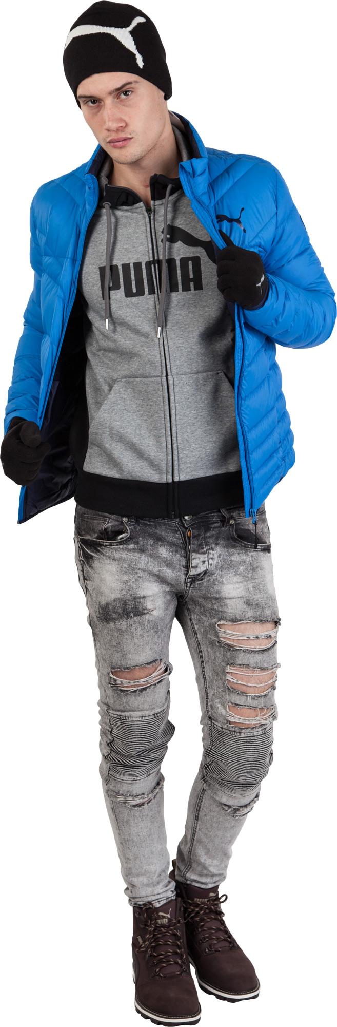 Puma ESS NO.1 LOGO FZ HOODY FL. Men s modern sweatshirt. Men s modern  sweatshirt bea828c2d4