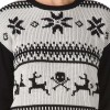 Dámský svetr - Vans W IM TOASTY SWEATER HOLIDAY WHITE S - 3