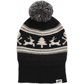 Vans W CAMPFIRE BEANIE HOLIDAY BLACK - Дамска зимна шапка