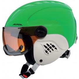 Alpina Sports CARAT VISOR - Kids' ski helmet