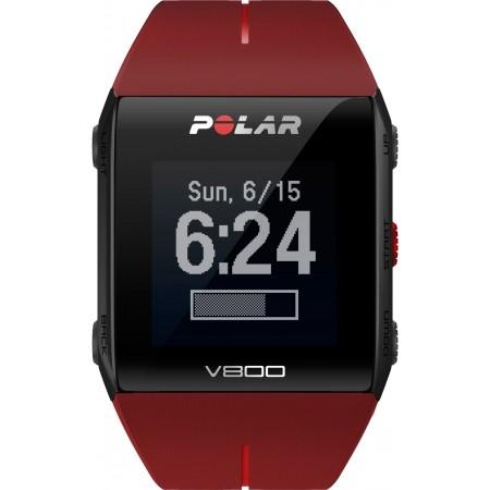 Sportovní hodinky s GPS - POLAR V800 HR - 1