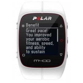 POLAR M400 HR - Sports watch with GPS and heart rate monitor