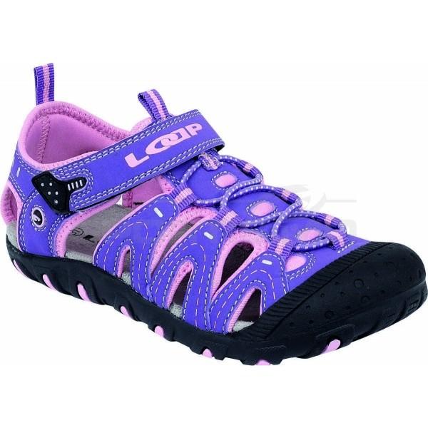 Loap BAM fialová 26 - Dětské sandály