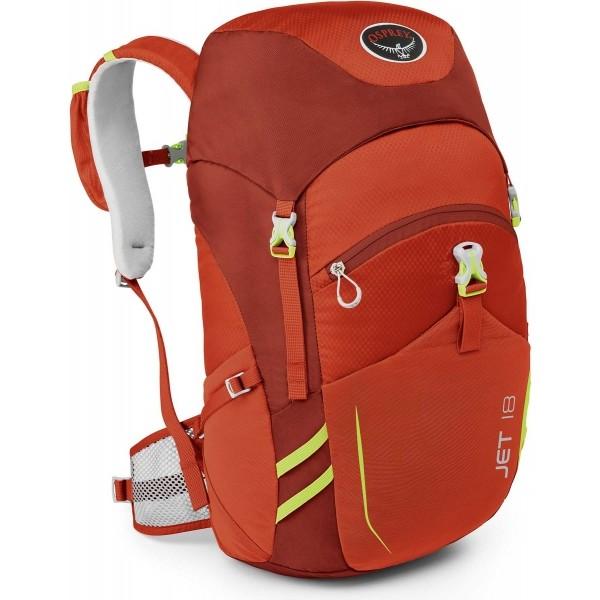 Osprey JET 18 červená  - Dětský batoh